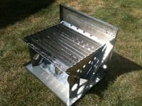 V Strom High Quality Stainless Steel Flat Pack BBQ